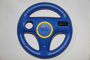 Original Nintendo Wii U Exclusive Blue/Red Steering Wheel RVL-024 RVL-HAK-USZ - Popular for Sale  - 2