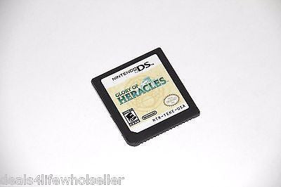 Original Nintendo DS Glory of Heracles (Nintendo DS, 2010) - Popular for Sale  - 1