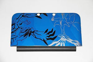 OEM Nintendo 3DS XL FULL Replacement Shell-Case w Blue Top Pokemon X&Y Back - Popular for Sale  - 3