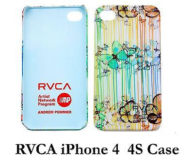 OEM Fashion RVCA Unisex iphone 4/4S Case Vintage White cool iphone 4/4s case - Popular for Sale