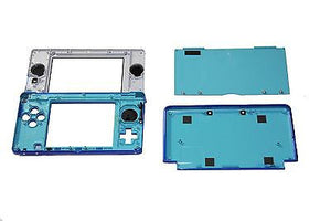 Original OEM Nintendo 3DS Case Replacement Full Housing Shell Blue 3DS US Seller - Popular for Sale  - 2
