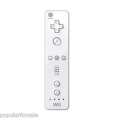 Official Genuine OEM Nintendo White Wii Wii U Remote RVL-003 USA SELLER - Popular for Sale  - 1