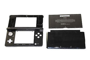 Original OEM Nintendo 3DS Case Replacement Full Housing Shell black 3DS US Sell - Popular for Sale  - 4