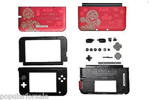 SUPER MARIO BROS 2 Limited Ed. Nintendo 3DS XL Replacement Housing Shell Parts - Popular for Sale  - 1