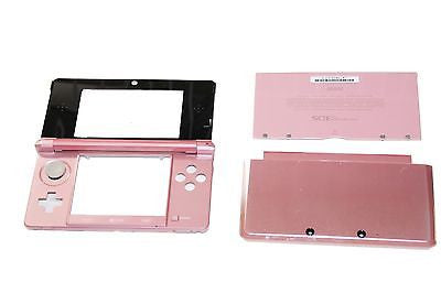 Original OEM Nintendo 3DS Case Replacement Full Housing Shell Pink 3DS US Seller - Popular for Sale  - 1