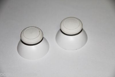 2X White Replacement Part Thumbstick Analog Stick Cap Nintendo WII U Controller - Popular for Sale  - 1
