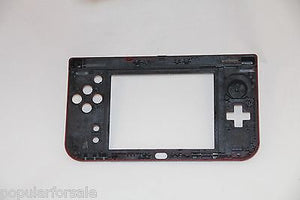2015 Nintendo New 3DS XL Replacement Hinge Part Red Bottom Middle Shell/Housing - Popular for Sale  - 2