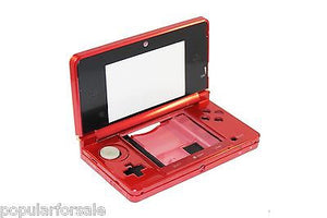 Original OEM Nintendo 3DS Case Replacement Full Housing Shell RED 3DS US Seller - Popular for Sale  - 2