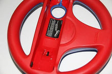 Load image into Gallery viewer, Original Nintendo Wii U Exclusive Blue/Red Steering Wheel RVL-024 RVL-HAK-USZ - Popular for Sale  - 3