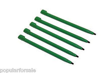 Load image into Gallery viewer, Lot of 5 Original Green Nintendo DSi XL Stylus Regular XL For DSi XL TWL-004 - Popular for Sale  - 2