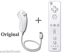 Load image into Gallery viewer, Original Nintendo Wii U Remote Controller and Nintendo Wii U Nunchuk RVL-003 - Popular for Sale  - 1