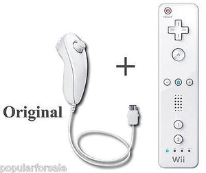 Original Nintendo Wii U Remote Controller and Nintendo Wii U Nunchuk RVL-003 - Popular for Sale  - 1
