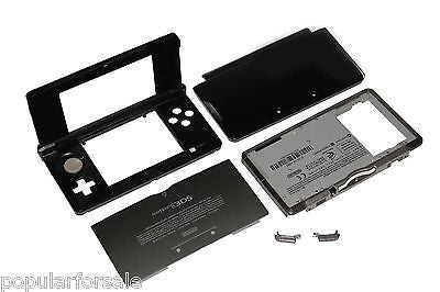 Original OEM Nintendo 3DS Case Replacement Full Housing Shell black 3DS US Sell - Popular for Sale  - 1