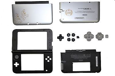 Original Nintendo 3DS XL Year of Luigi Video Game FULL Replacement Housing Shell - Popular for Sale  - 1