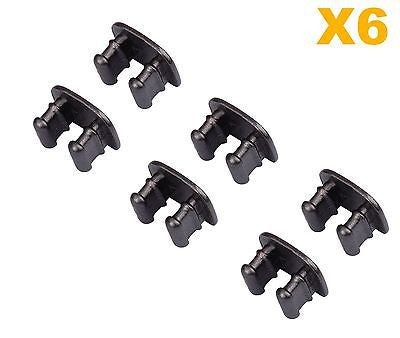 6X Pcs Replacement Metal Clasps for Fitbit Flex Bracelet Wristband - Clasps Only - Popular for Sale