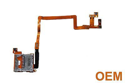 OEM Nintendo DSi SD Card Slot Flex Ribbon Cable Left & Right Shoulder Buttons LR - Popular for Sale  - 1