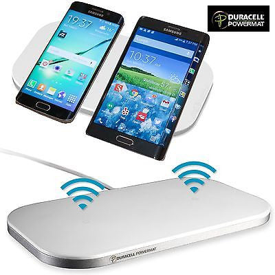 Duracell Samsung Dual Wireless Charging Pad For Samsung Galaxy S6 and S6 Edge - Popular for Sale  - 1