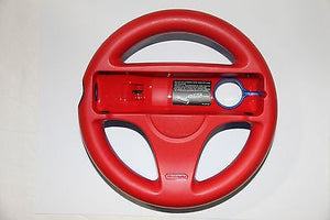 Original Nintendo Wii U Exclusive Blue/Red Steering Wheel RVL-024 RVL-HAK-USZ - Popular for Sale  - 1