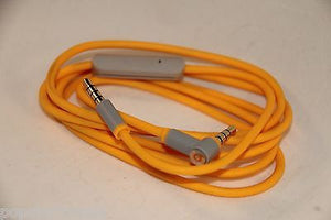 Original Audio Cable 3.5mm/ L Cord/ Beats by Dr Dre Headphones Aux & Mic Yellow - Popular for Sale  - 6