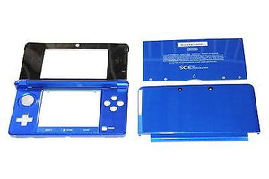 Original OEM Nintendo 3DS Case Replacement Full Housing Shell Blue 3DS US Seller - Popular for Sale  - 1
