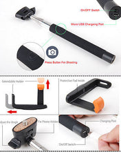 Load image into Gallery viewer, Bluetooth Selfie Stick Monopod for iPhone 6 Plus 5S and Samsung Galaxy Line - Popular for Sale  - 2