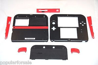 Original Nintendo 2DS Repair Part Full Shell Housing Replacement 2DS Red Shell - Popular for Sale  - 1
