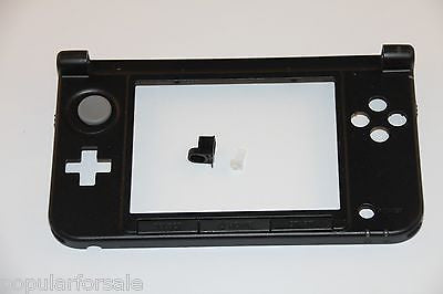 Nintendo 3DS XL Replacement Hinge Part Black Bottom Middle Shell/Housing w/Lock - Popular for Sale  - 1