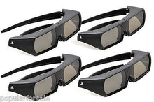 Load image into Gallery viewer, Sony CECH-ZEG1UX Active 3D Glasses Rechargeable For PlayStation 3 3D TV Lot of 4 - Popular for Sale  - 3