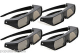 Sony CECH-ZEG1UX Active 3D Glasses Rechargeable For PlayStation 3 3D TV Lot of 4 - Popular for Sale  - 3