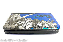 Load image into Gallery viewer, Blue SUPER SMASH BROS Nintendo 3DS XL Full Replacement Housing Shell Case Parts - Popular for Sale  - 3