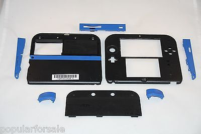 Original Nintendo 2DS Repair Part Full Shell Housing Replacement 2DS Blue Shell - Popular for Sale  - 1