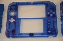 Load image into Gallery viewer, Limited Edition Nintendo 2DS Crystal Clear Full Shell Housing Replacement Blue - Popular for Sale  - 3
