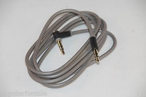 Original OEM Beats by Dre Audio AUX 3.5mm Light Gray L Cord Cable 848-00004-00-A - Popular for Sale  - 3