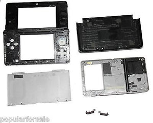 Original OEM Nintendo 3DS Case Replacement Full Housing Shell black 3DS US Sell - Popular for Sale  - 3