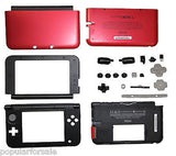 Original Nintendo 3DS XL Full Housing Shell Replacement Part Red & Black OEM - Popular for Sale  - 1