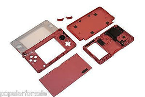 Original OEM Nintendo 3DS Case Replacement Full Housing Shell RED 3DS US Seller - Popular for Sale  - 4