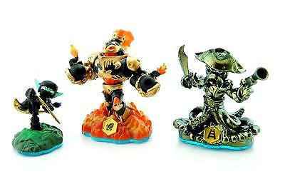 10 X 3 Skylanders Figures Blast Zone Ninja Stealth Elf, Wash Buckler Xbox, PS3 - Popular for Sale