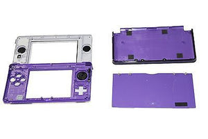 Original OEM Nintendo 3DS Case Replacement Full Housing Shell Purple 3DS US Sell - Popular for Sale  - 2