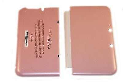 Official Nintendo 3DS XL Housing Top, Bottom & Cover Pink Shell Part USA - Popular for Sale