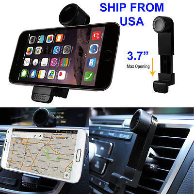 360 Rotate Car Air Vent Phone Holder Mount for Apple iPhone 6s Plus Note 4 edge+ - Popular for Sale  - 1