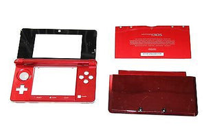 Original OEM Nintendo 3DS Case Replacement Full Housing Shell RED 3DS US Seller - Popular for Sale  - 3