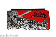 Load image into Gallery viewer, Red SUPER SMASH BROS Official Nintendo 3DS XL Housing Top/Front Cover Shell Part - Popular for Sale  - 1