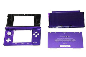Original OEM Nintendo 3DS Case Replacement Full Housing Shell Purple 3DS US Sell - Popular for Sale  - 1
