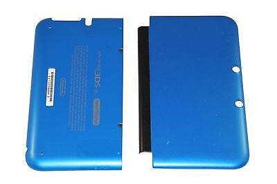 Official Nintendo 3DS XL Housing Top, Bottom & Cover Blue Shell Part USA - Popular for Sale