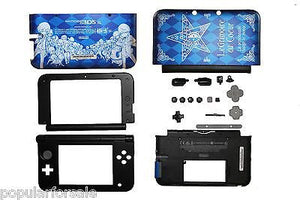 3DS XL FULL Replacement Housing Shell Shadow of the Labyrinth's Limited Edition - Popular for Sale  - 1