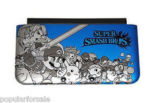 Load image into Gallery viewer, Blue SUPER SMASH BROS OEM Nintendo 3DS XL Housing Top/Front Cover Shell Part - Popular for Sale  - 1
