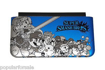 Blue SUPER SMASH BROS OEM Nintendo 3DS XL Housing Top/Front Cover Shell Part - Popular for Sale  - 1