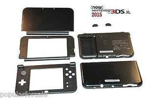 2015 NEW Nintendo 3DS XL Black Edition FULL Replacement Housing Shell Case OEM - Popular for Sale  - 1