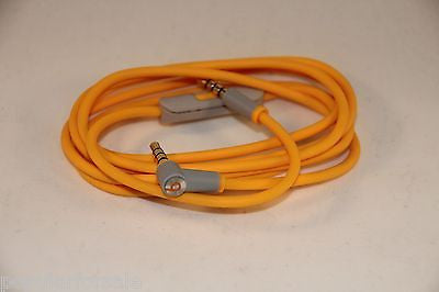 Original Audio Cable 3.5mm/ L Cord/ Beats by Dr Dre Headphones Aux & Mic Yellow - Popular for Sale  - 1
