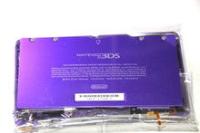 Load image into Gallery viewer, ORIGINAL OEM NINTENDO 3DS CASE REPLACEMENT FULL HOUSING PURPLE  SHELL 3DS